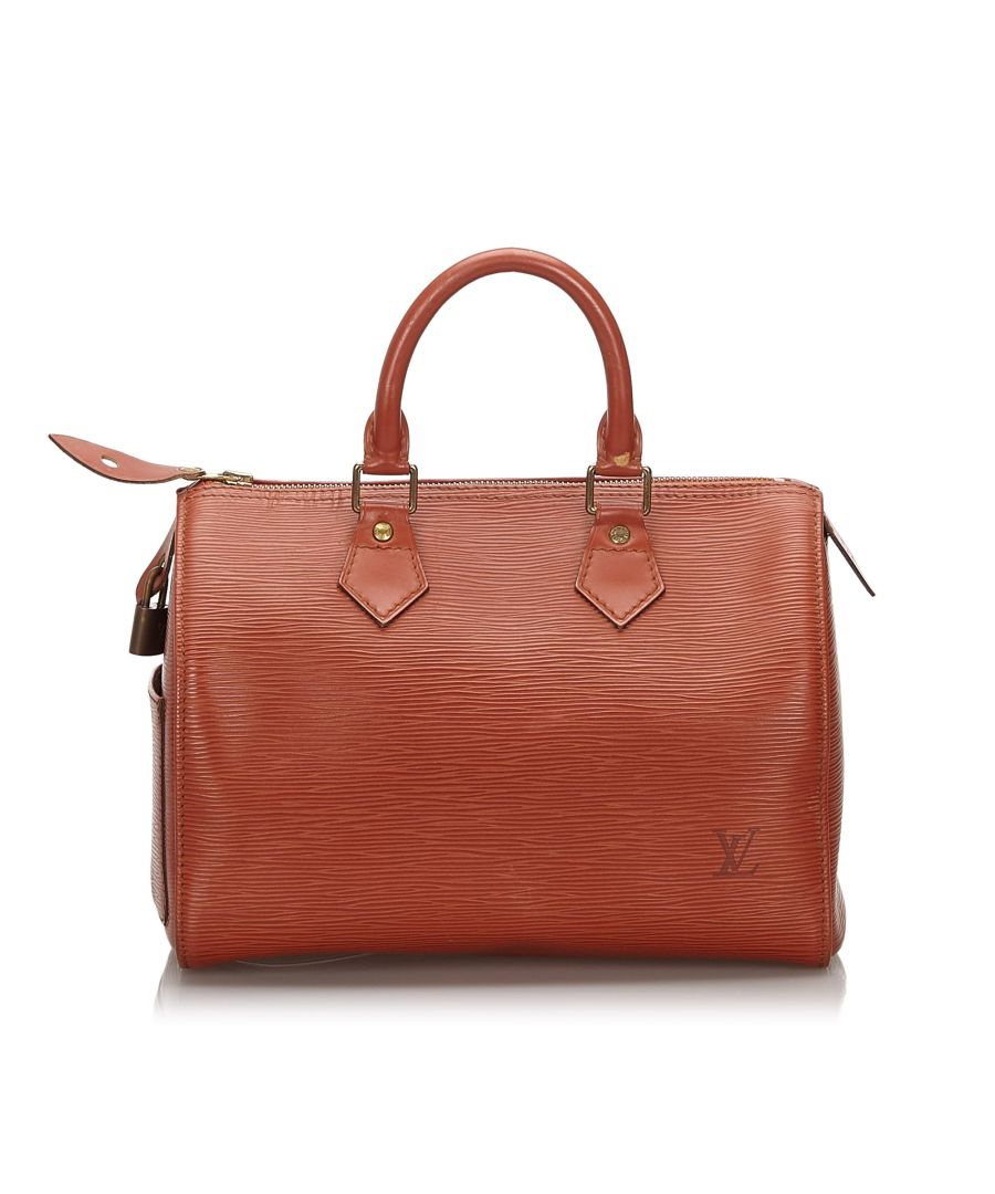 Image for Louis Vuitton Epi Speedy 25 Brown