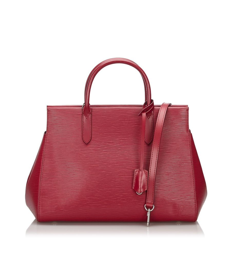 Image for Louis Vuitton Epi Marly MM Red