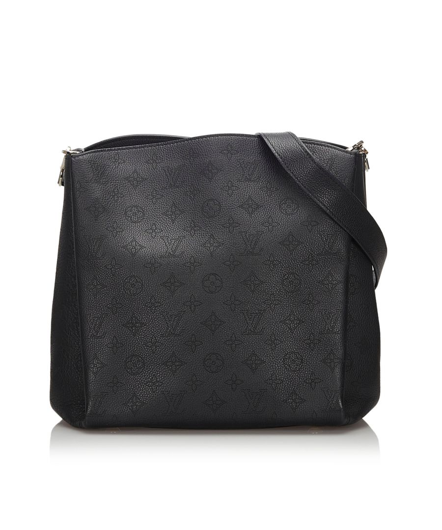 Image for Vintage Louis Vuitton Mahina Babylone PM Black