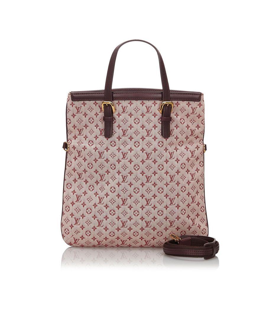 Image for Vintage Louis Vuitton Monogram Mini Lin Francoise Pink