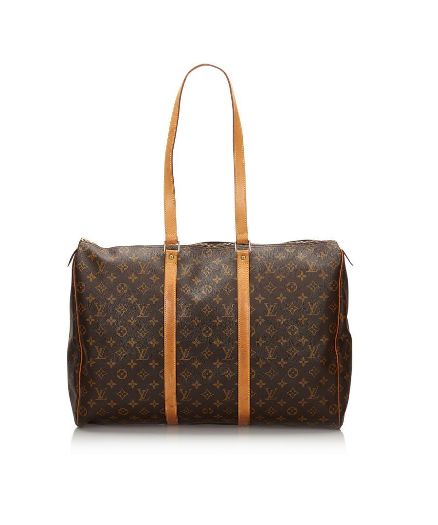 Image for Vintage Louis Vuitton Monogram Flanerie 50 Brown