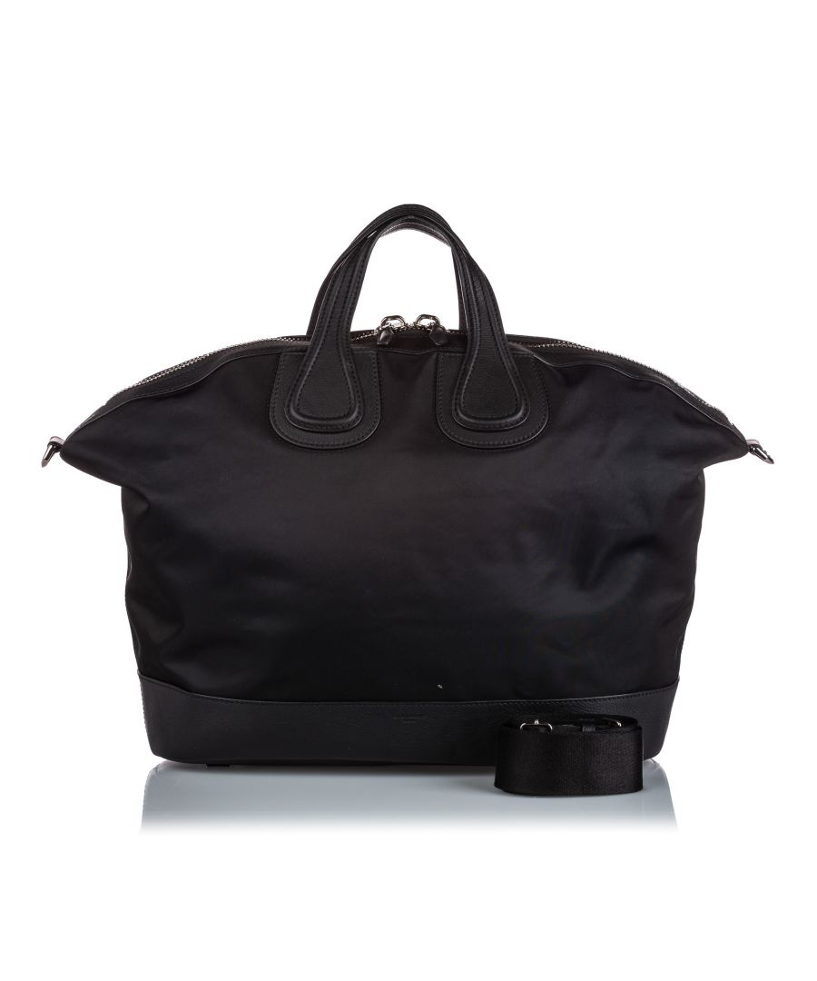Image for Vintage Givenchy Nightingale Holdall Black