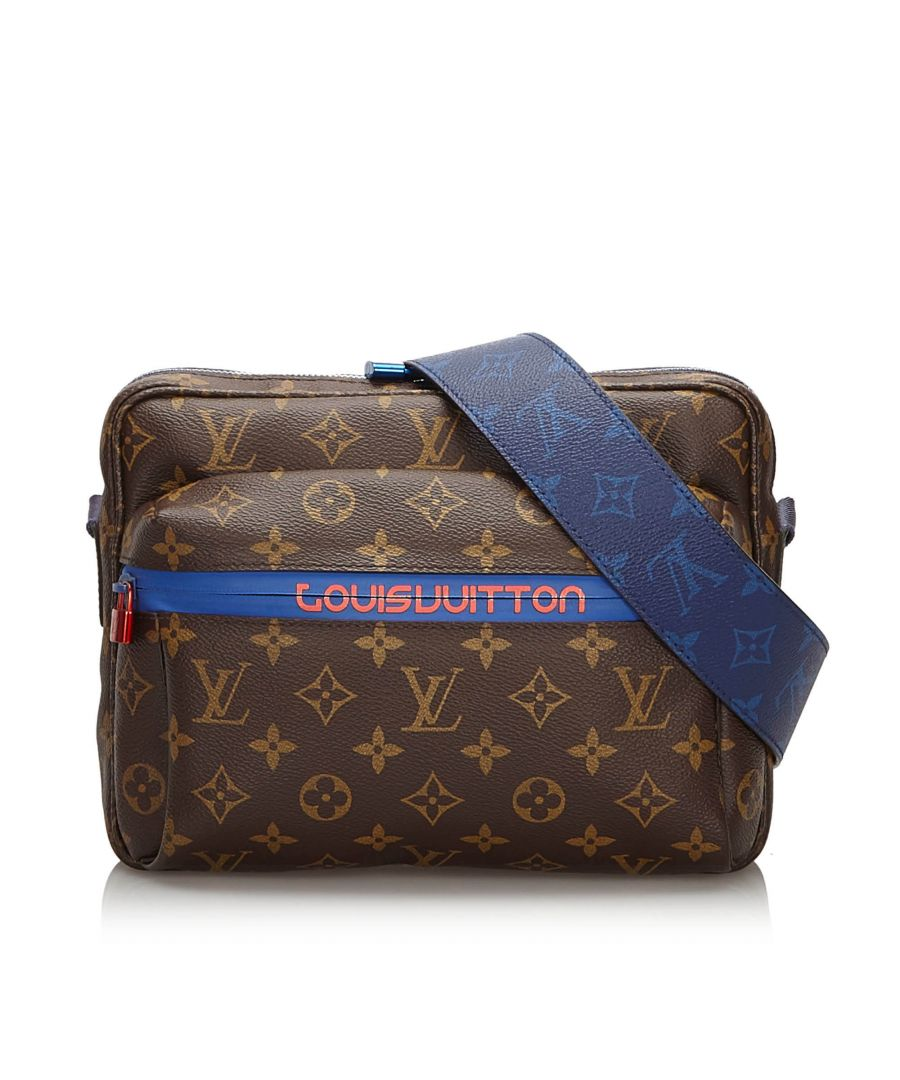 Image for Vintage Louis Vuitton Monogram Outdoor Messenger PM Brown