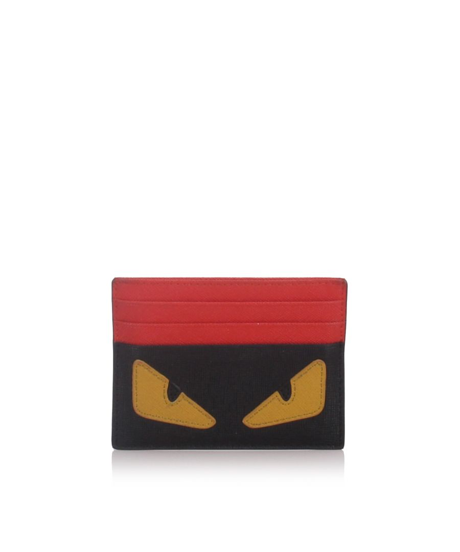 Image for Fendi Monster Card Holder Black
