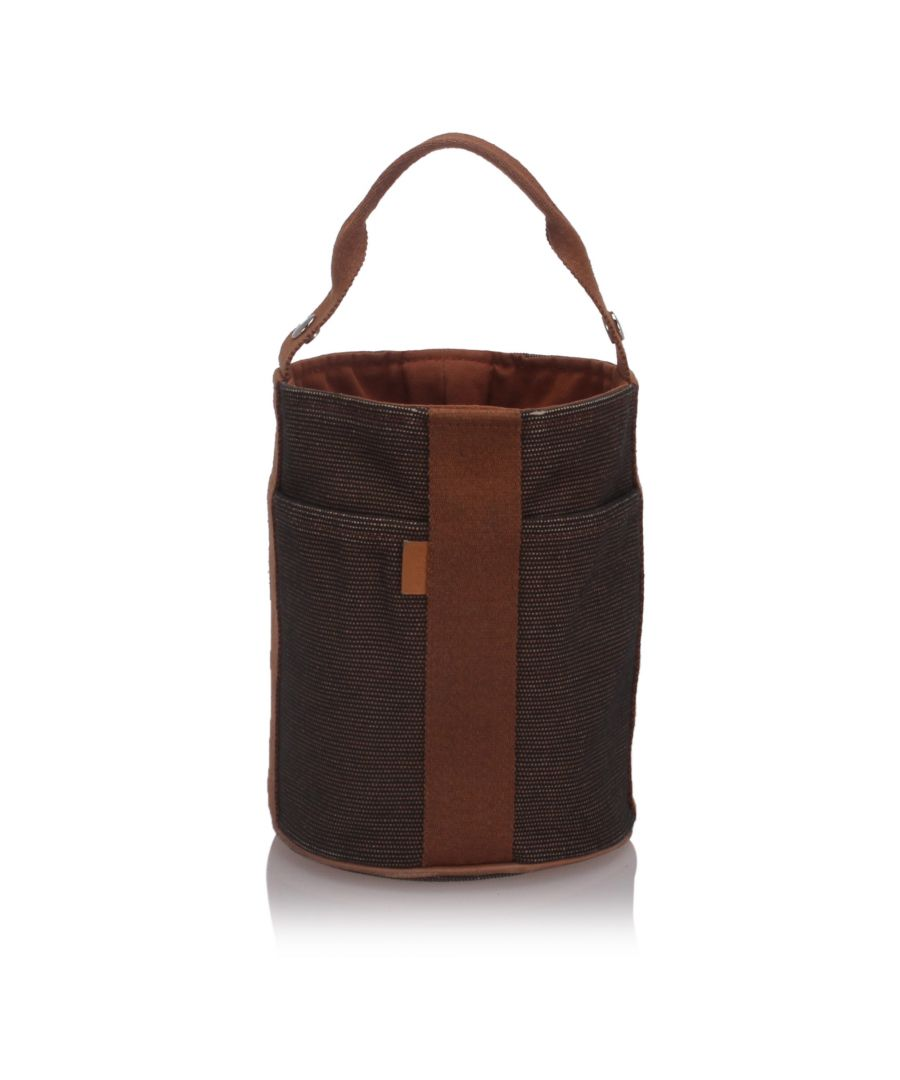 Image for Hermes Toile Saxo PM Brown