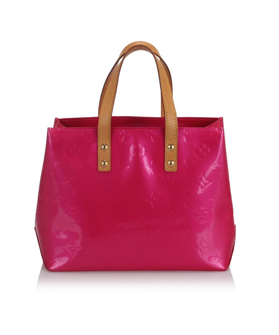 Image for Louis Vuitton Monogram Vernis Reade Pink