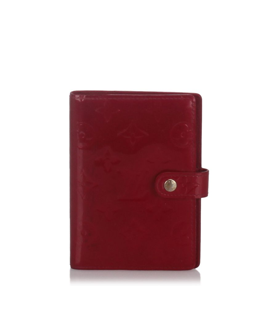 Image for Louis Vuitton Vernis Agenda PM Red