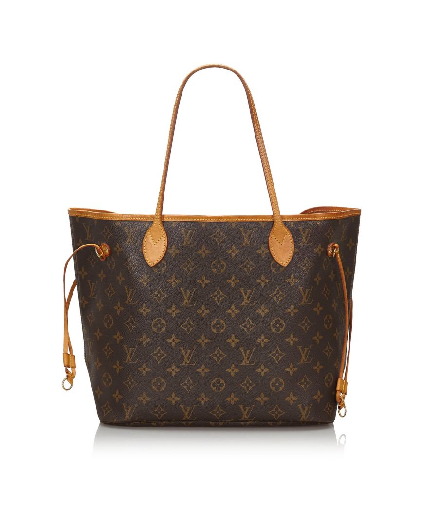 Image for Louis Vuitton Monogram Neverfull MM Brown
