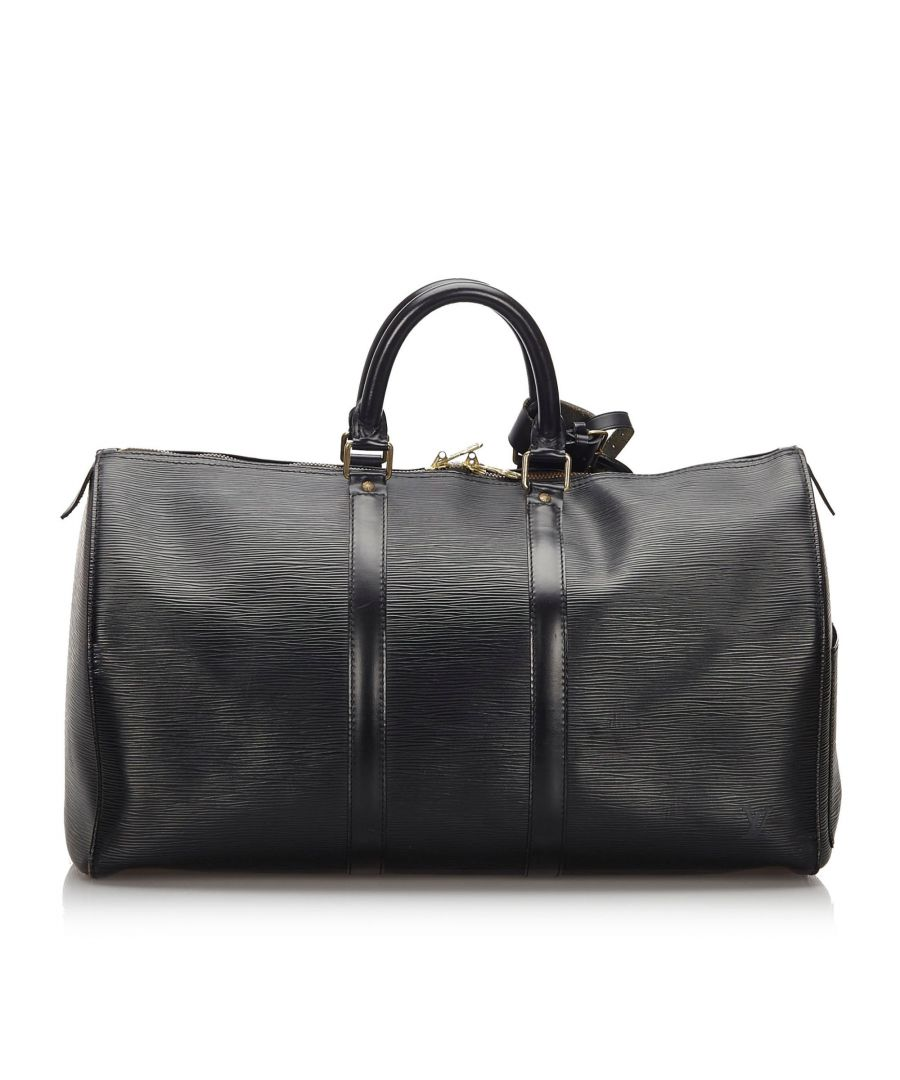 Image for Vintage Louis Vuitton Epi Keepall 45 Black