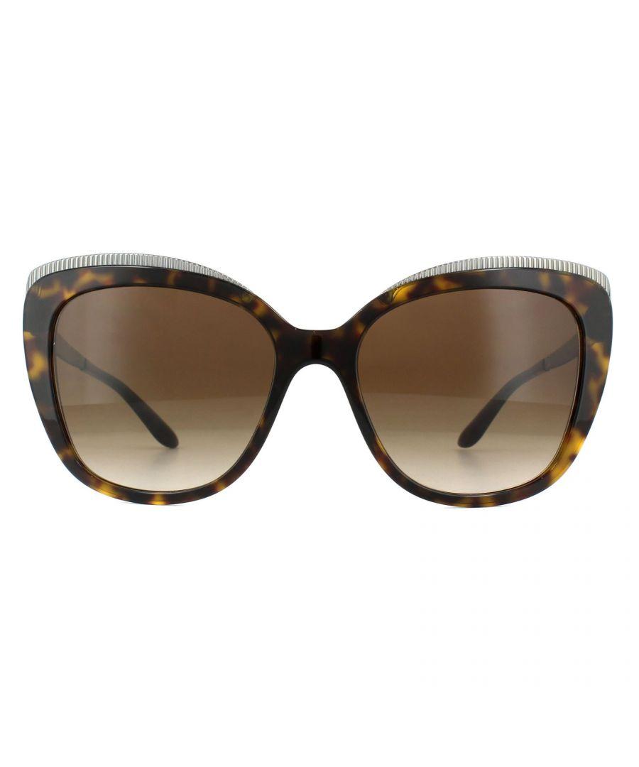Image for Dolce & Gabbana Sunglasses DG4332 502/13 Havana Brown Gradient