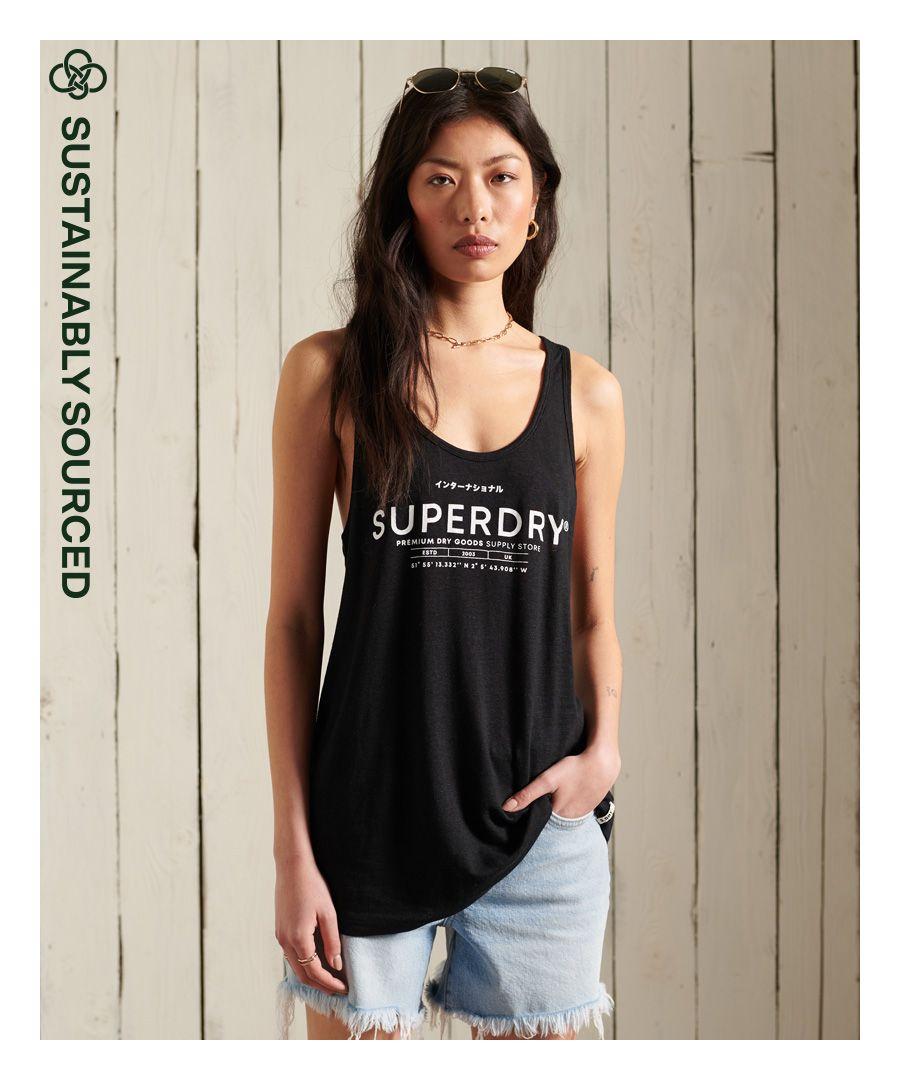 Image for Superdry Desert Linen Vest