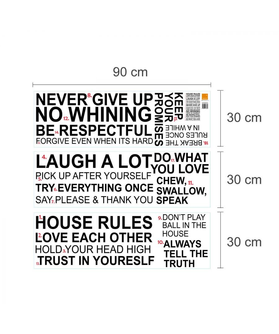 Image for WS8001 - House Rules Quote (EN)