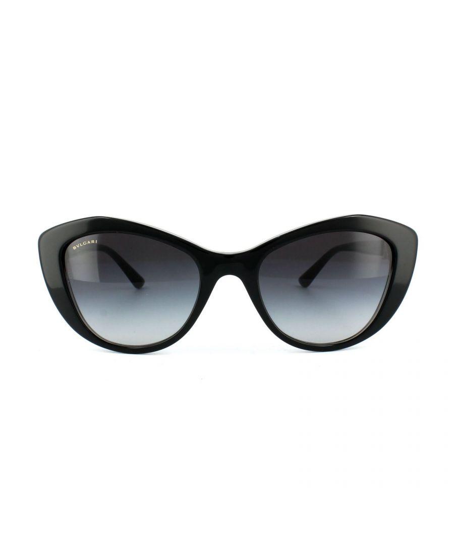 Image for Bvlgari Sunglasses 8168B 53818G Black Grey Gradient