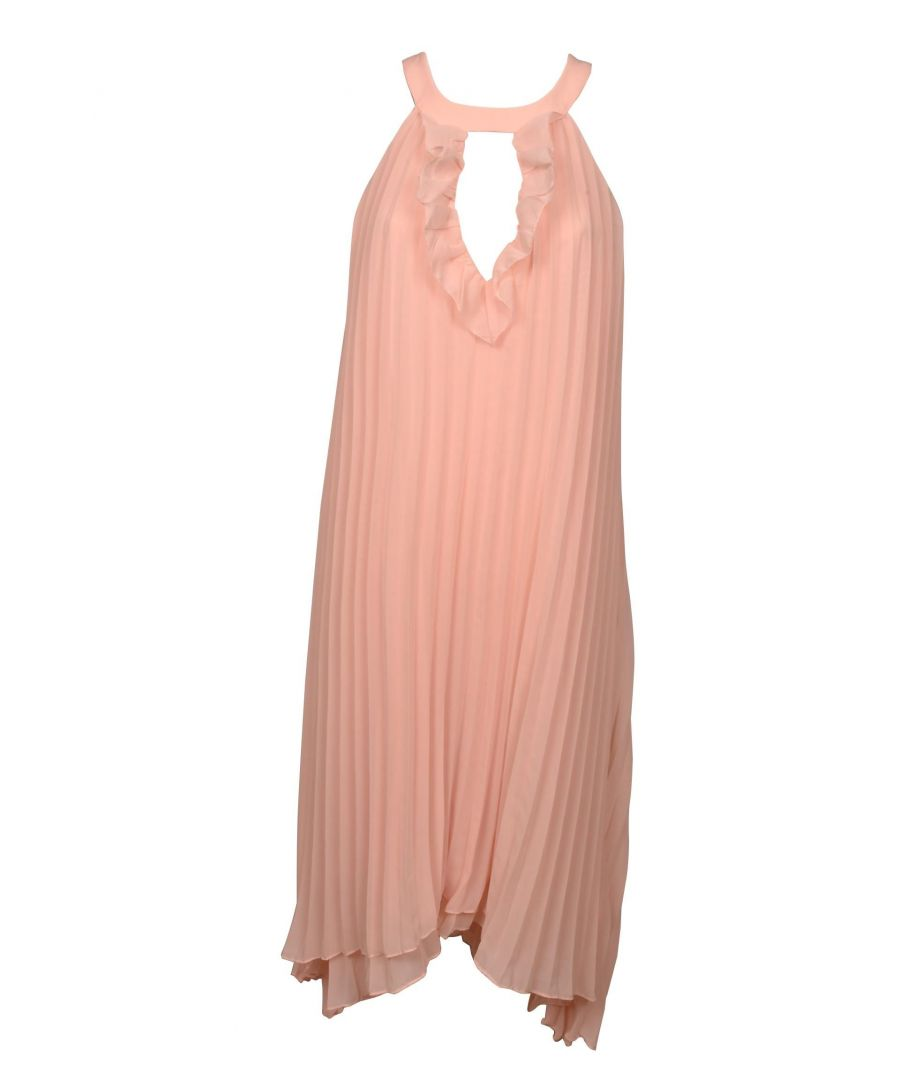Image for TRUE DECADENCE WOMEN'S HS0802 PINK VISCOSE DRESS