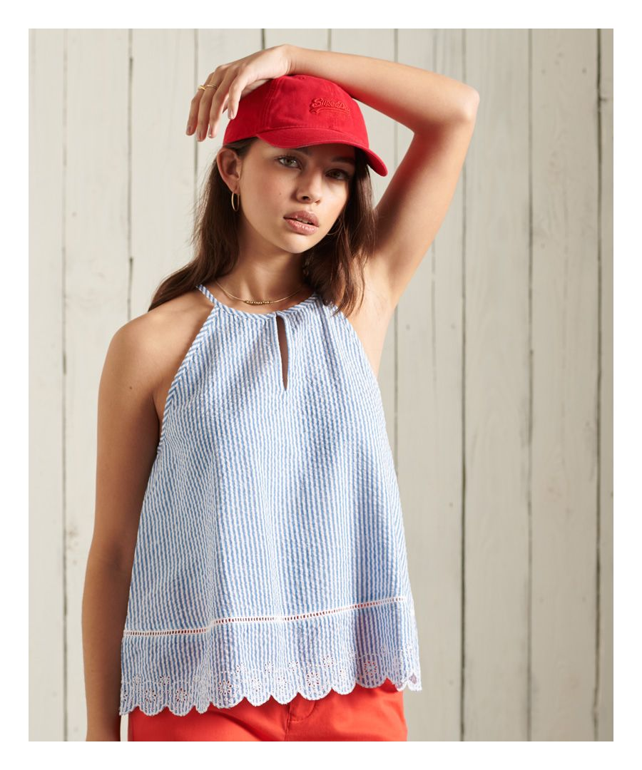 Image for Superdry Lace Cami Top