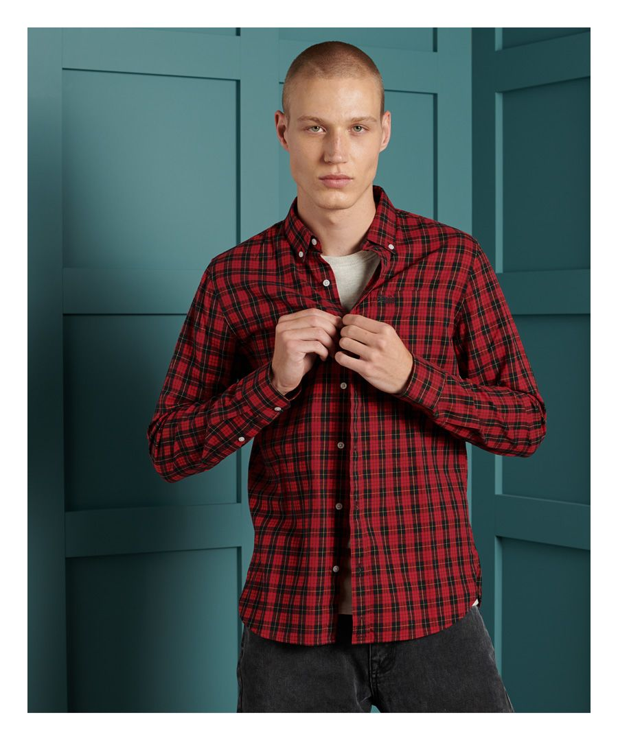 Image for Superdry Classic London Button Down Shirt