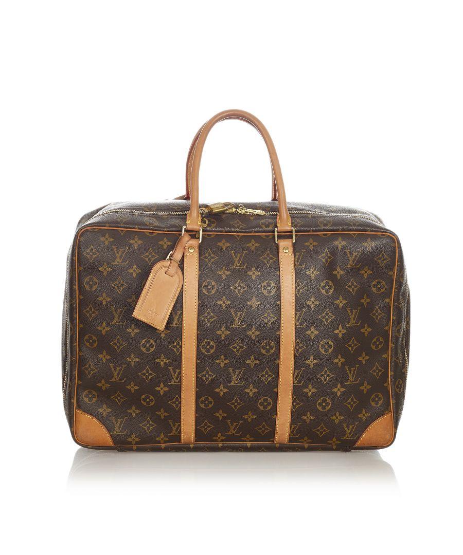 Image for Vintage Louis Vuitton Monogram Sirius 45 Brown