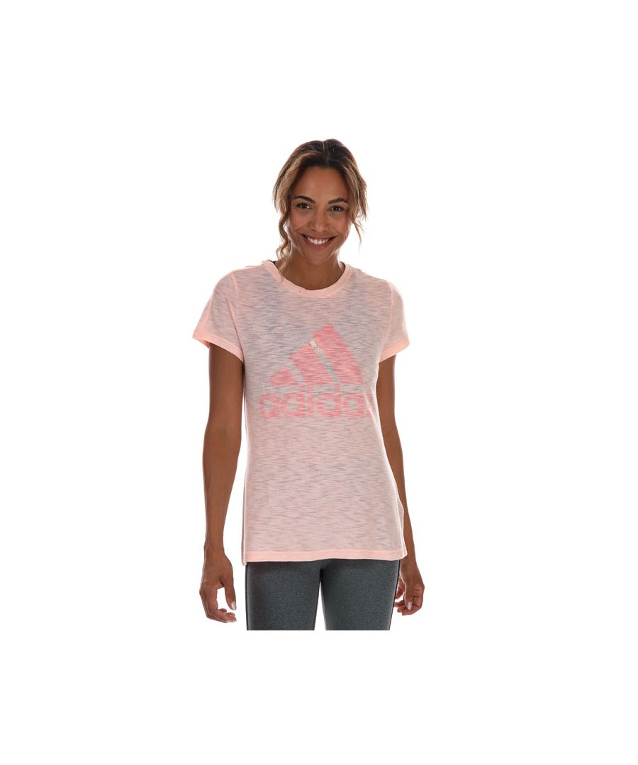 Image for Women's adidas Must Haves Winners T-Shirt in Coral