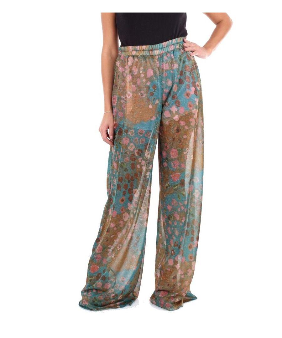 Image for BLUMARINE WOMEN'S 4150MULTICOLOR MULTICOLOR POLYESTER PANTS