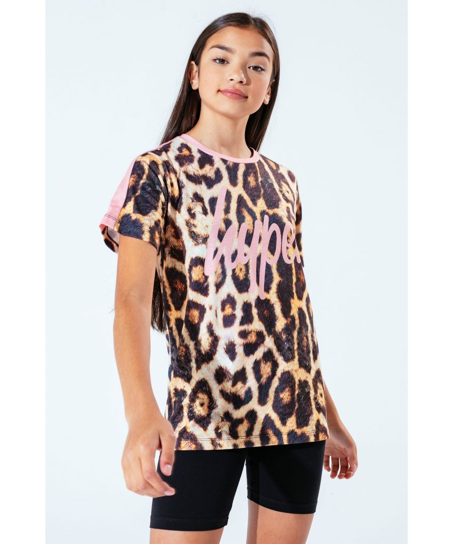Image for Hype Leopard Kids T-Shirt