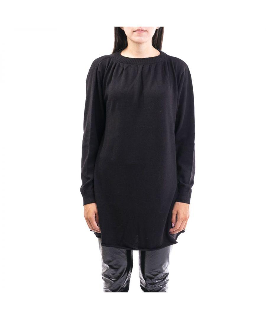 Image for LIVIANA CONTI WOMEN'S F9AA20Y690 BLACK WOOL DRESS