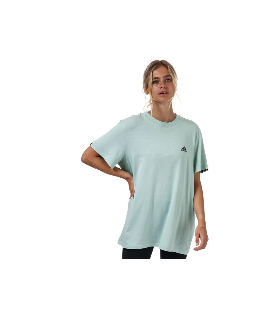 Image for Women's adidas Must Haves 3-Stripes T-Shirt in Green