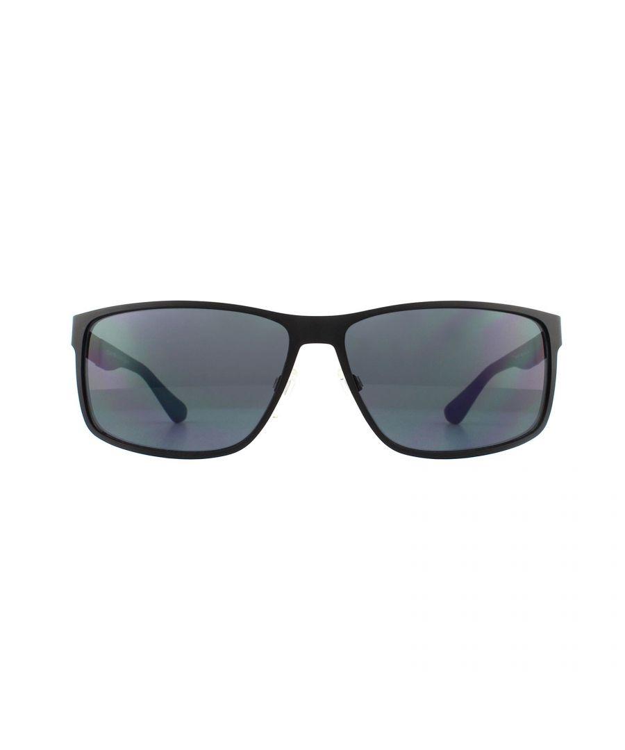 Image for Tommy Hilfiger Sunglasses TH 1542/S 003 IR Matte Black Grey Blue