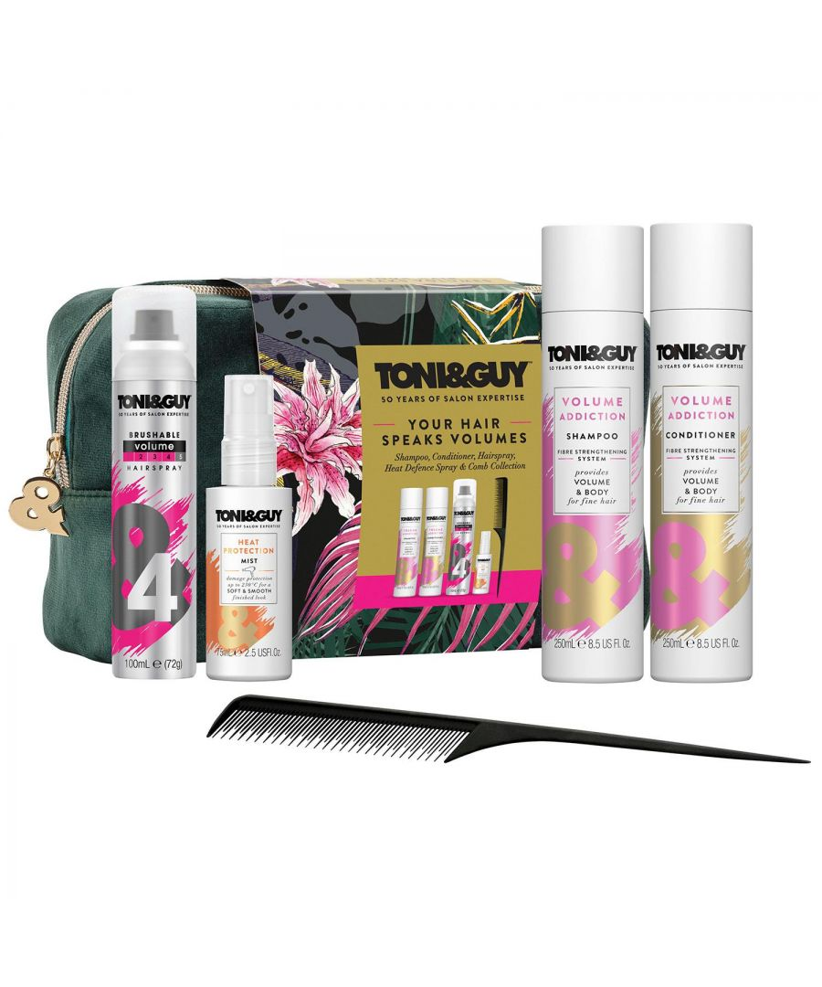 Image for Toni & Guy Hair Volume Styling Gift Set