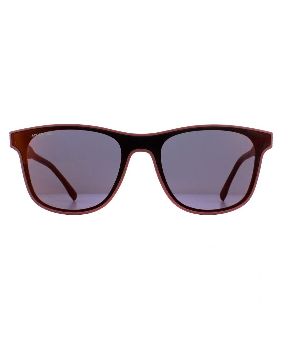 Image for Lacoste Sunglasses L907S 615 Matte Red Grey