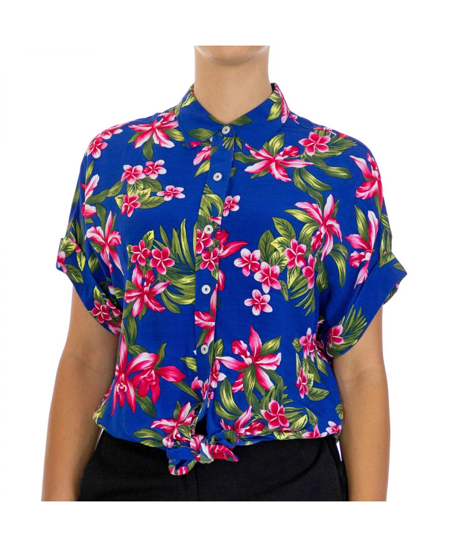 Image for Tommy Hilfiger Women's S/S Shirt Esther Half Sleeve Multicolor