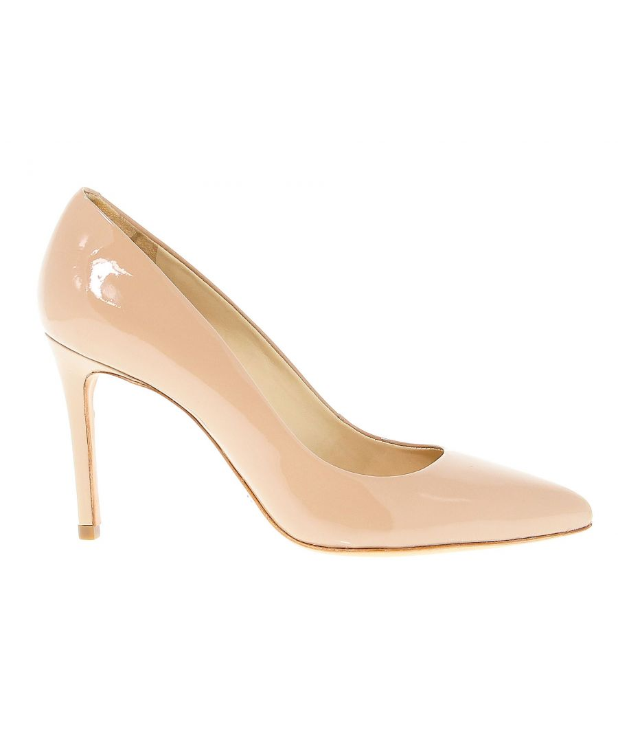 Image for SCHUTZ WOMEN'S 1723C PINK LEATHER PUMPS