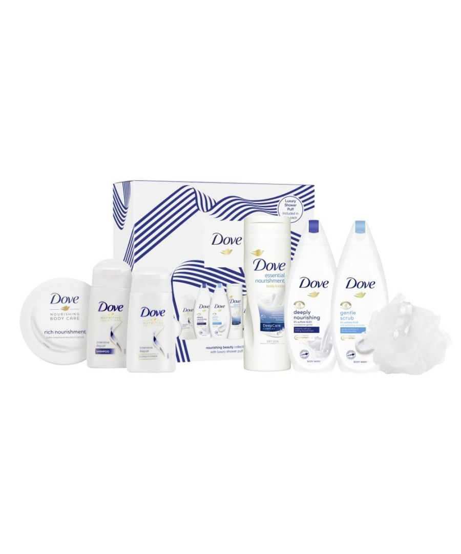 Image for Dove Nourishing Beauty Collection With Luxury Shower Puff