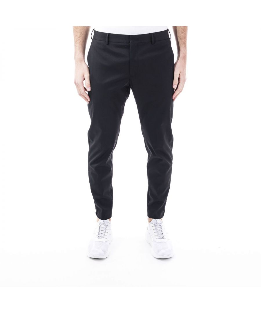 Image for PT01 MEN'S COASEPZ10KLTMR24990 BLACK POLYESTER PANTS
