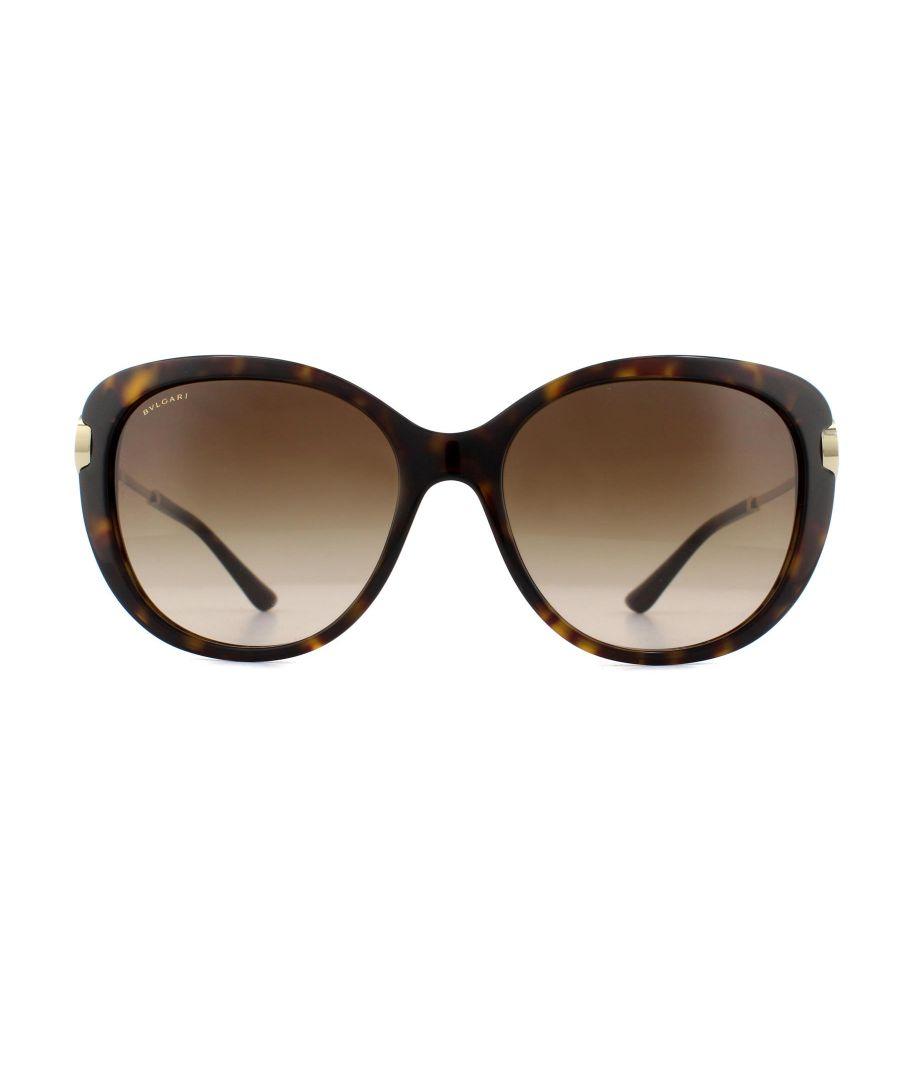 Image for Bvlgari Sunglasses 8194B 504/13 Dark Havana Brown Gradient