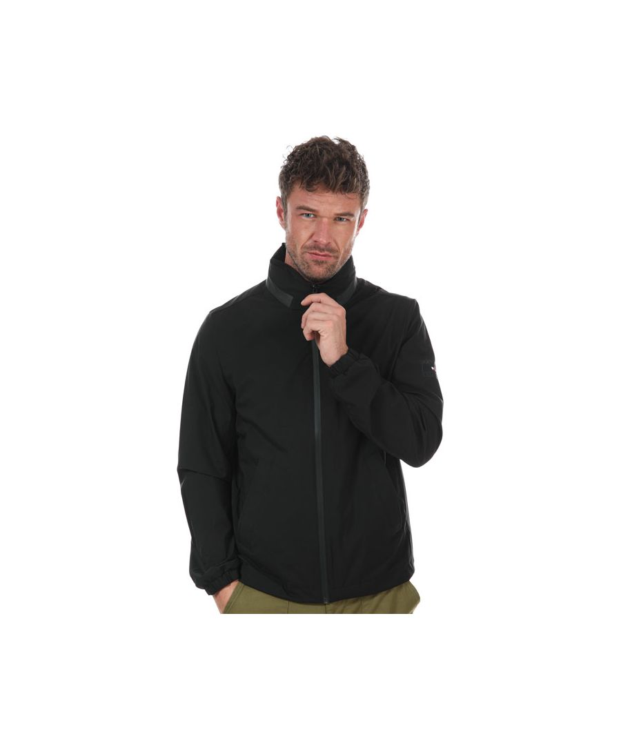 Image for Men's Tommy Hilfiger Stand Collar Jacket in Black