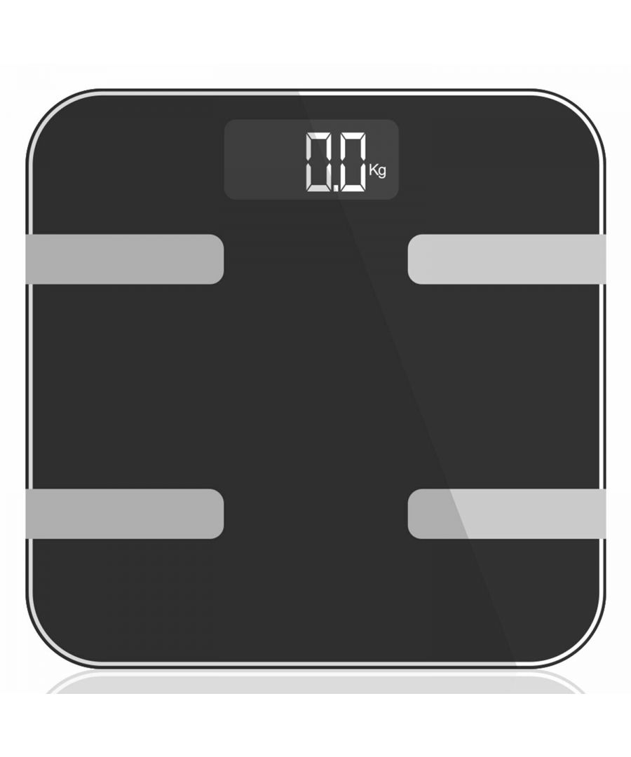 Image for 9 in 1 Digital Bathroom Scale - Space Grey