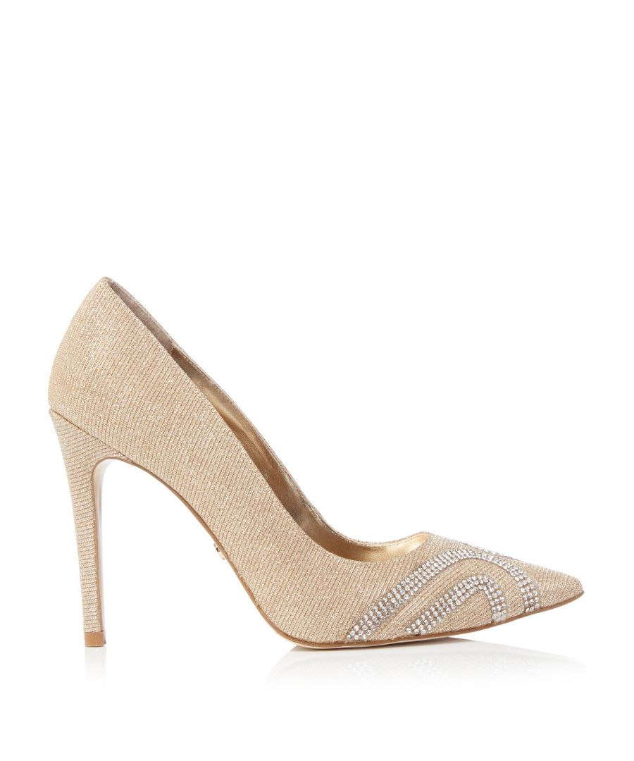 Image for Dune Ladies AARIN DI Embellished Point Toe Court Shoes