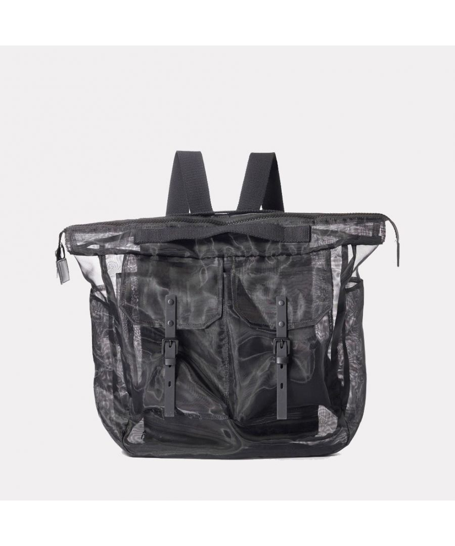 Image for Frank Large Sheer Rucksack in Black