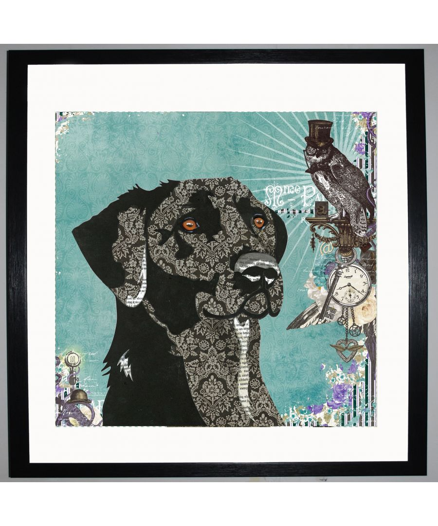 Image for Dog by UK Collage artist and illustrator Clare Thompson