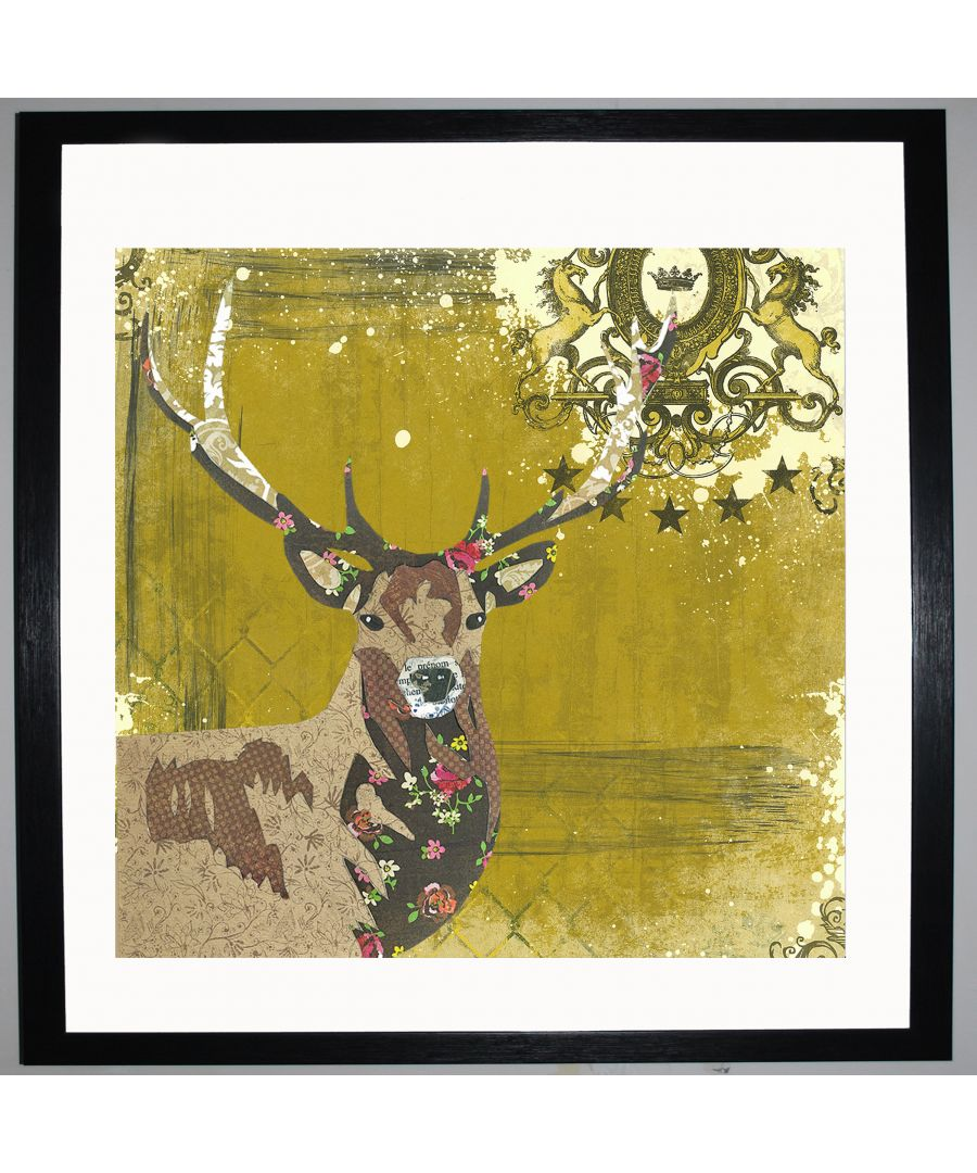 Image for Stag by UK Collage artist and illustrator Clare Thompson