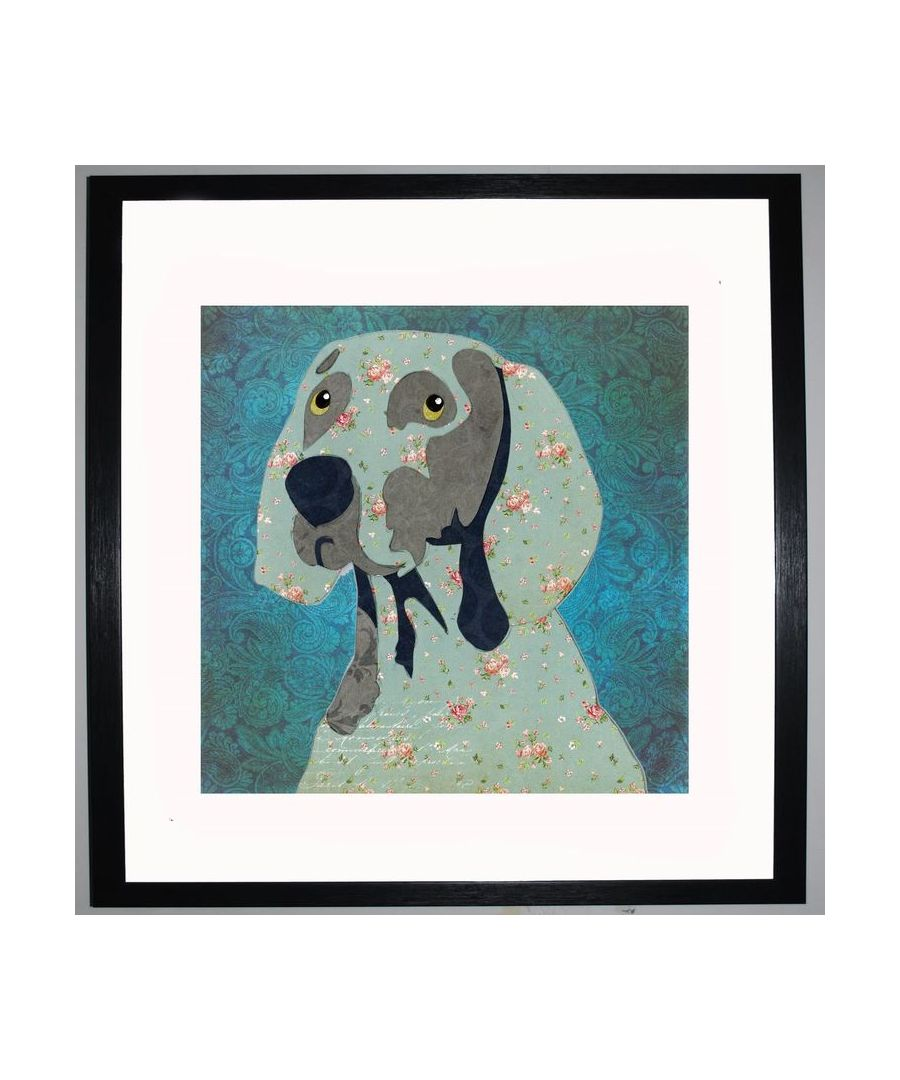 Image for Weimaraner by UK Collage artist and illustrator Clare Thompson