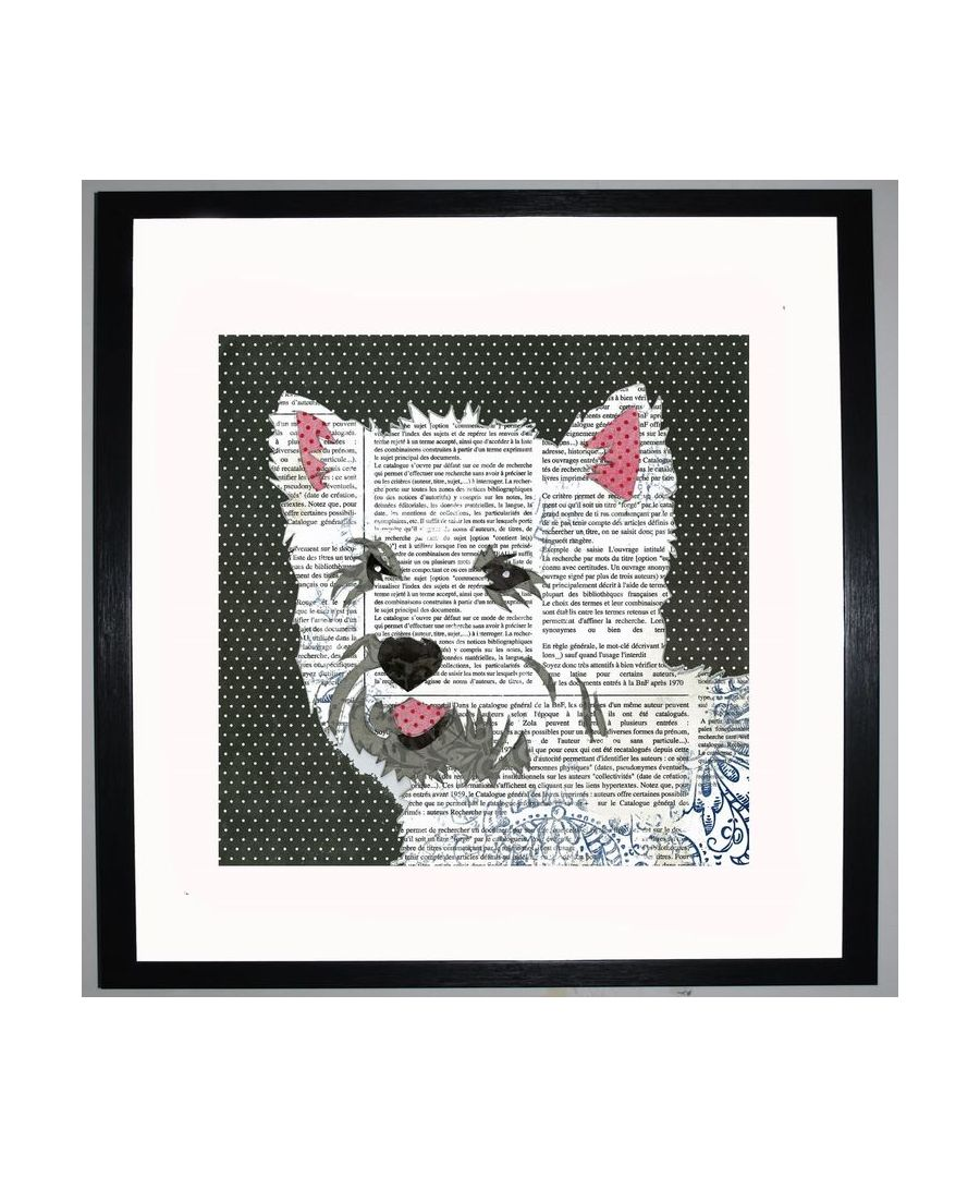 Image for West Highland Terrier by UK Collage artist and illustrator Clare Thompson