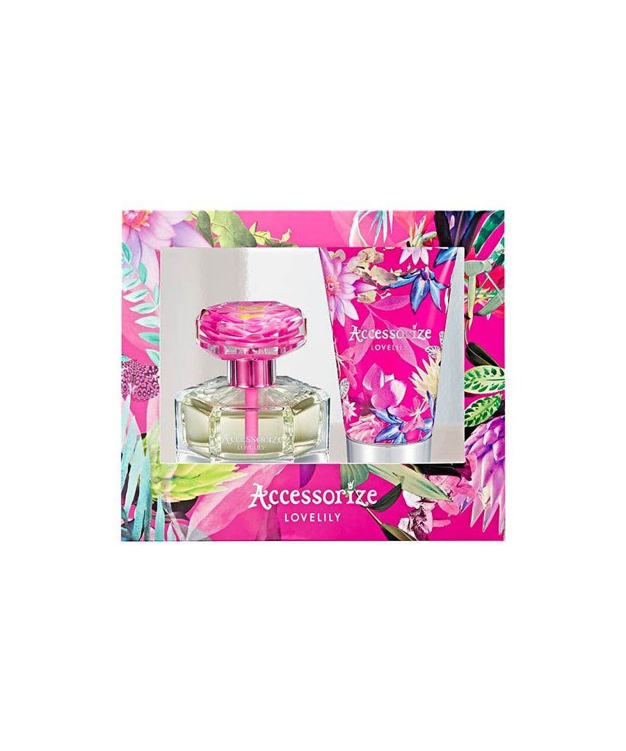 Image for Accessorize Love Lily Gift Set 75Ml Eau De Toilette And 100Ml Body Lotion