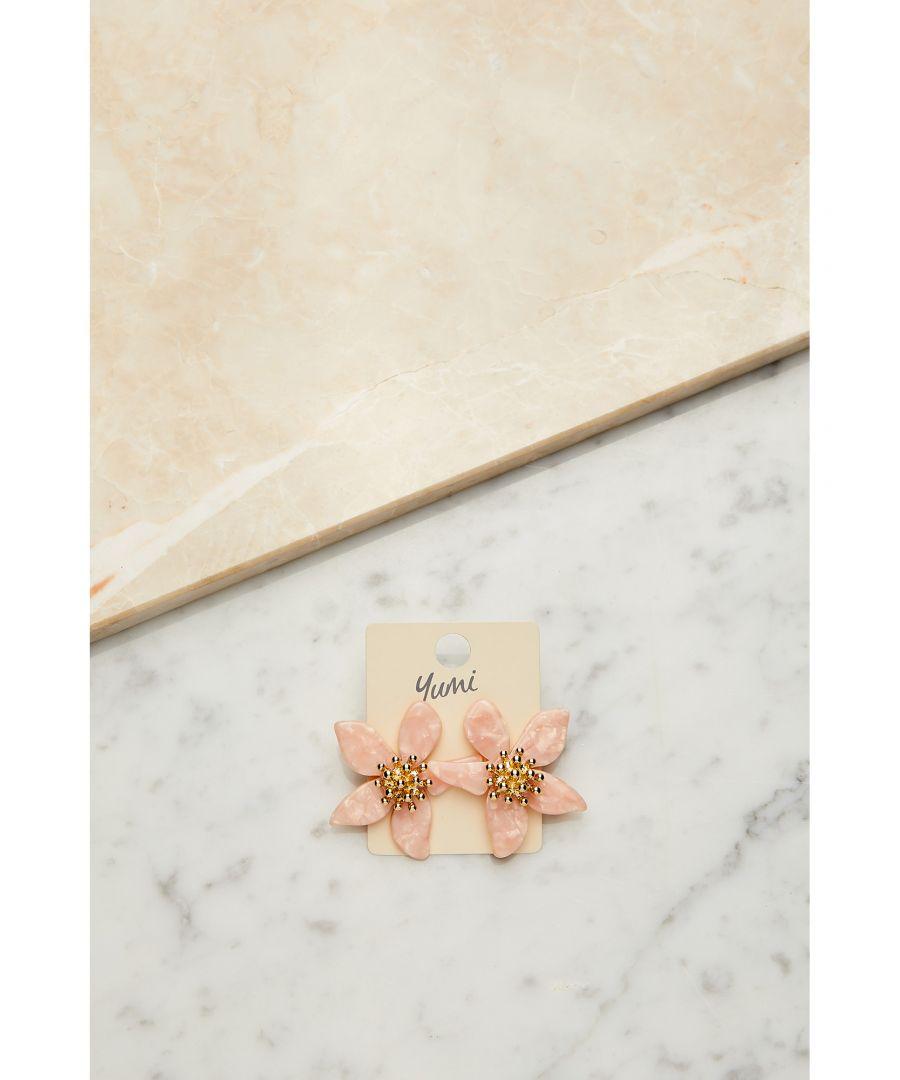 Image for Blush Flower Earrings