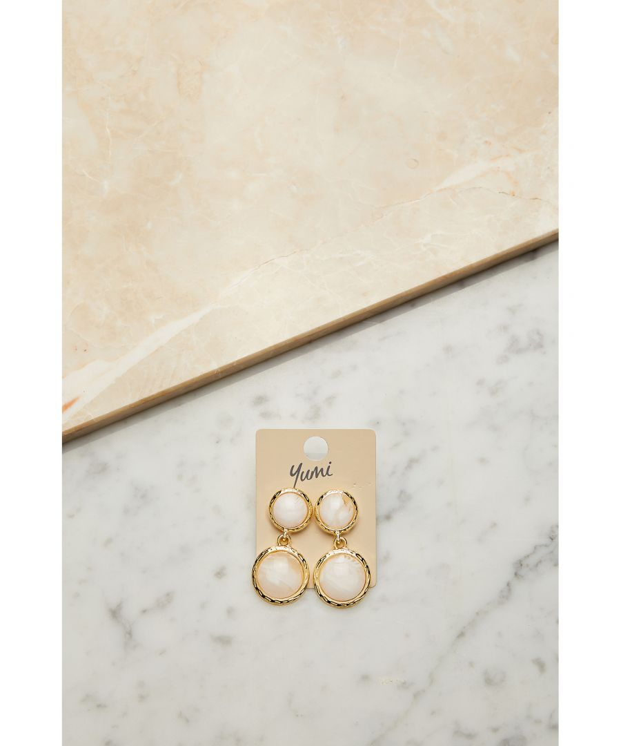 Image for Drop Stone Earrings