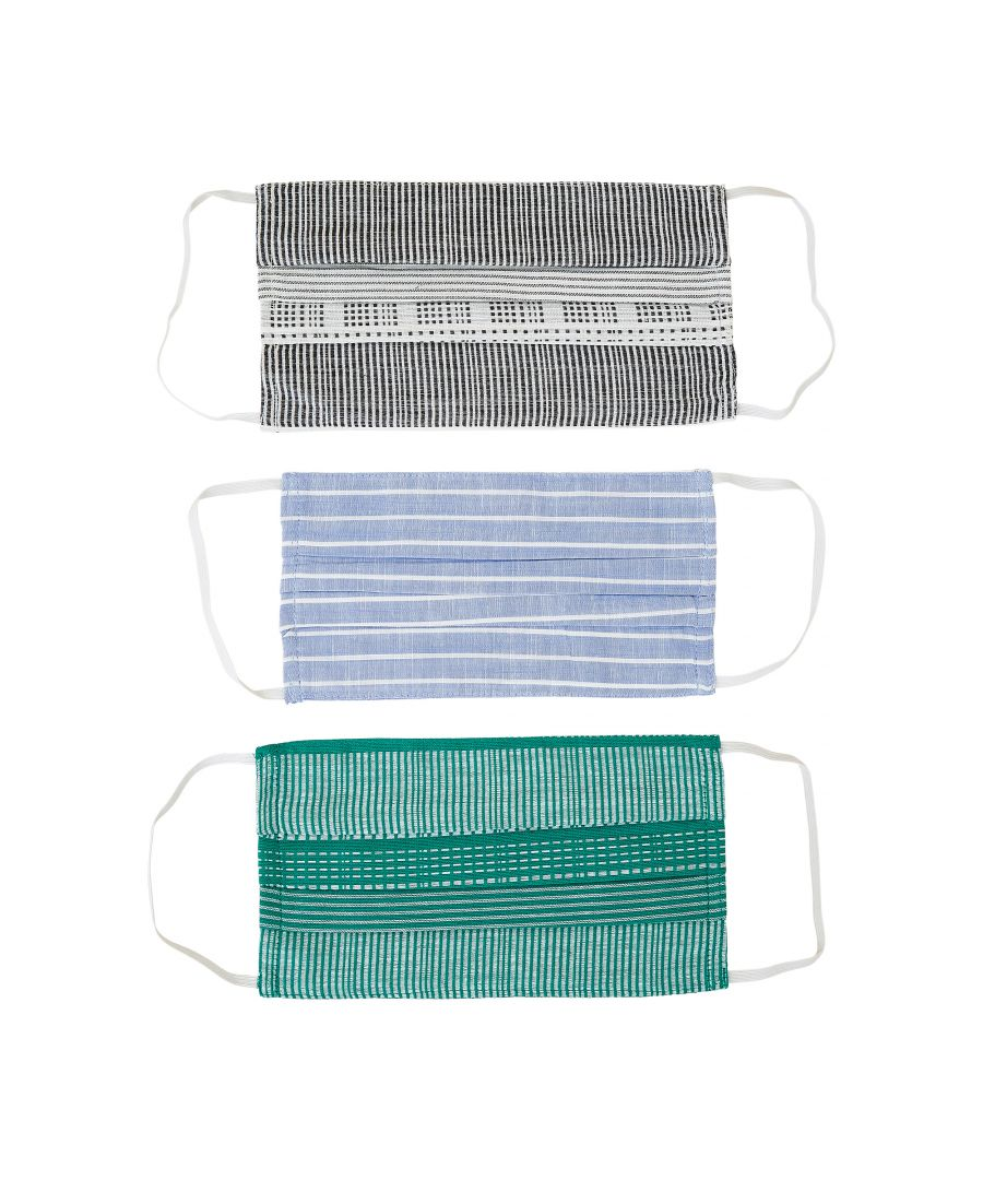 Image for Sustainable 3 Pack Cotton Masks