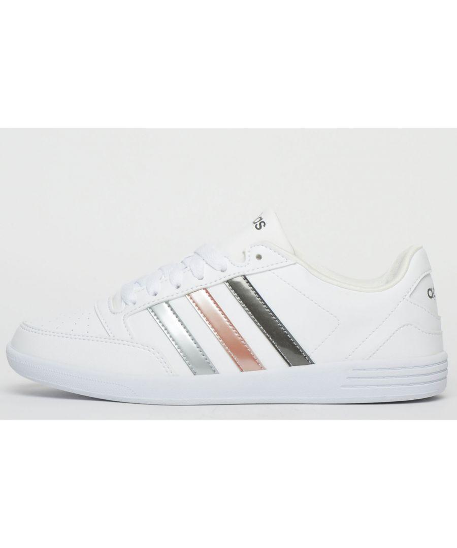 Image for Adidas VL Hoops Low Womens Girls B Grade