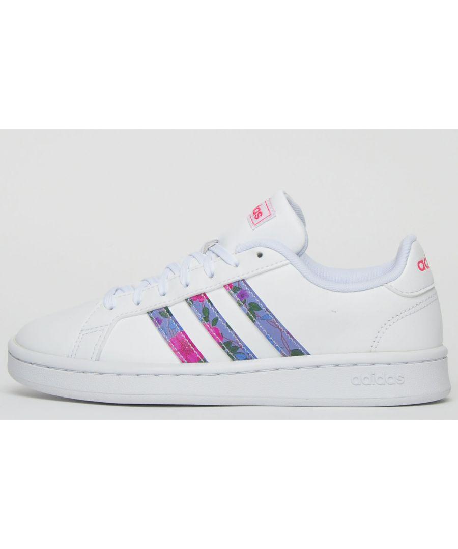 Image for Adidas Grand Court Womens Girls B Grade