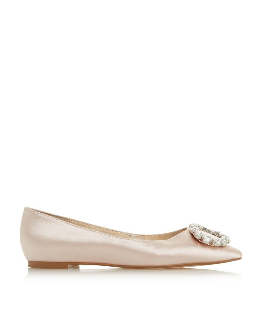 Image for Dune Ladies ADOREABLE JL Pearl Brooch Ballet Pump