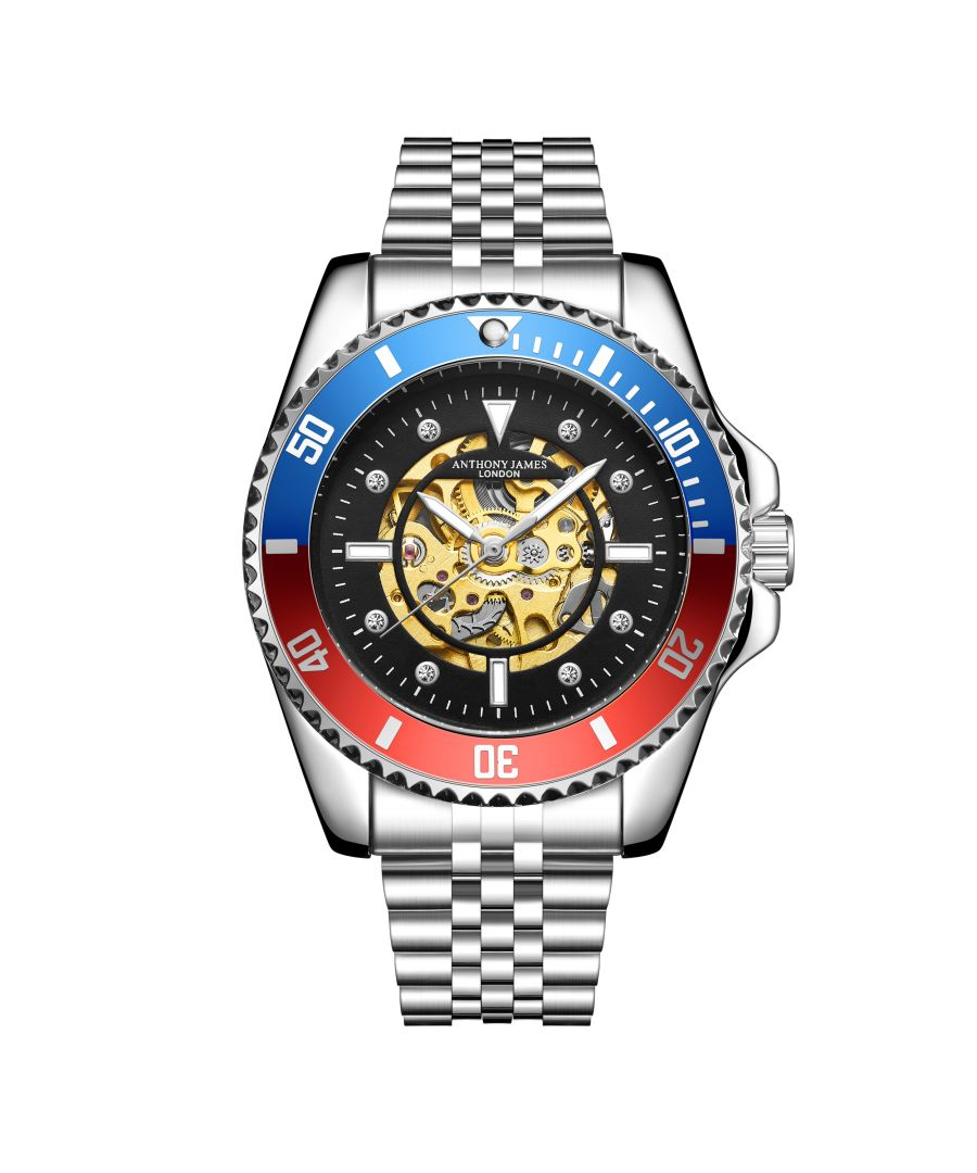 Image for Hand Assembled Anthony James Limited Edition Skeleton Sports Automatic Steel